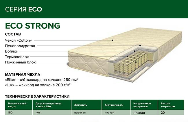Матрас DreamLine Eco Strong Bonnel